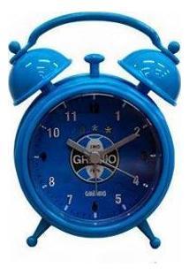 Relógio Despertador Retrô Grêmio - Unissex