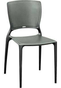 Cadeira Sofia Grafite Fechado 92236007 Tramontina