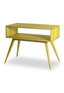 Aparador Dominoes Estrutura Amarelo 73Cm - 61465 Amarelo