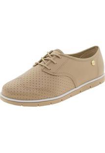 Sapato Feminino Oxford Moleca - 5613304 Bege