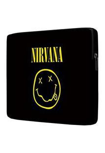Capa Para Notebook Nirvana 15 Polegadas Com Bolso