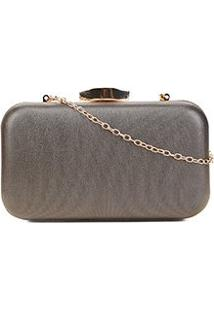 Bolsa Shoestock Clutch Evening Frame Feminina