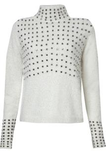 Blusa John John Turtleneck (Off-White, P)
