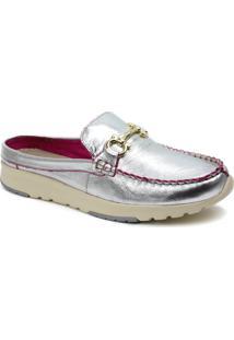 Sapato Feminino Mule Zariff Metal