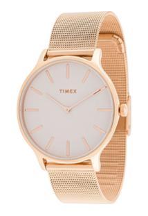 Timex Transcend 38Mm Watch - Dourado