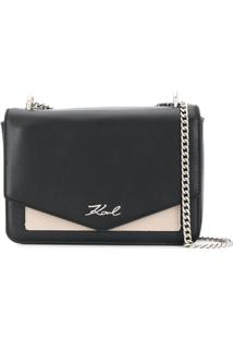 Karl Lagerfeld K/Pocket Shoulder Bag - Preto