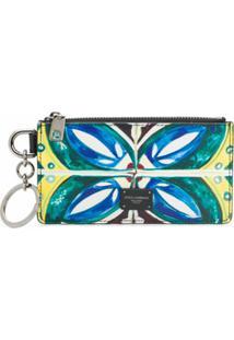 Dolce & Gabbana Porta-Moedas Com Padronagem Dauphine - Branco