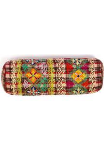 Capa De Almofada Canalasso 18X50 Cor: Multicolorido - Tamanho: Único