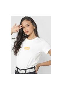 Camiseta Forum Logo Off-White