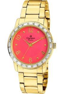 6b1a70e9c72 ... Relógio Champion Ch24437L Feminino - Feminino-Dourado