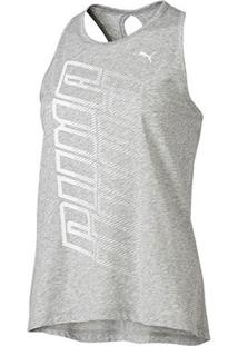 Regata Puma Twist It Logo Tank Feminina - Feminino