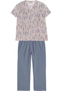 67223849f22b9a Hering Outlet Pijama Feminino Hering Balada Conforto Algodão Poliester Em  Peitilho De Malha Com Funcional