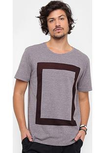 Camiseta Redley Estampada Devorê Masculina - Masculino