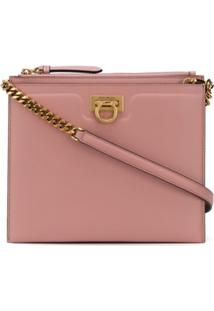 Salvatore Ferragamo Trifolio Crossbody Bag - Rosa
