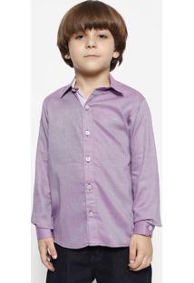 Camisa Quadriculada - Rosa & Lilásogochi