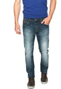 Calça Jeans Colcci Felipe Estonada Azul