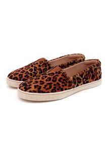 Sapatilha Casual Forrada Jl Shoes Onça