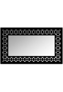Espelho De Parede 12880P Preto 70X110 Art Shop