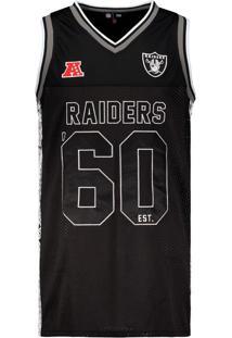 Regata New Era Nfl Oakland Raiders Preto