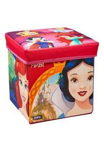 Porta Objeto E Banquinho - Princesas - Zippy Toys Pjb18Pr