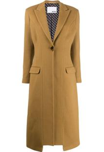 Each X Other Re-Sculpted Tailored Coat - Marrom