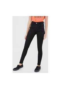 Calça Jeans Malwee Skinny Lisa Preta