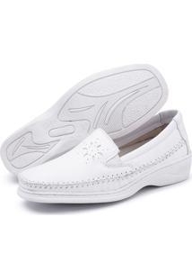 Sapato Sandiee Conforto Branco