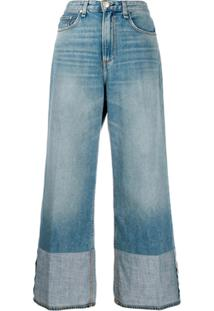 Rag & Bone Calça Jeans Ruth Cintura Alta - Azul