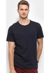 Camiseta Reserva Mescla Paris Masculina - Masculino-Marinho