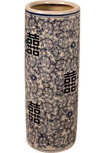 Vaso Decorativo De Porcelana Arcade