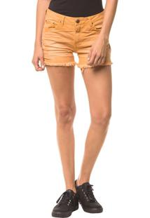 Shorts Color Five Pockets - Mostarda - 34
