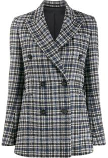 Golden Goose Double Breasted Jacket - Cinza