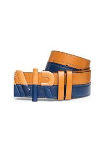 Cinto Cintura Quadril Regular Mr Bicolor Caramelo