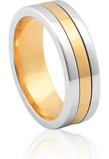 Aliança De Casamento Em Ouro 18K 6,7Mm