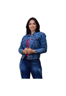 Jaqueta Jeans Ornaly Clássica Jeans