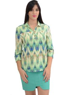 Camisa Energia Fashion Estampada