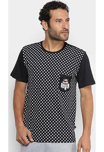 Camiseta Red Bull Skate Generation Skull Bolso Masculina - Masculino