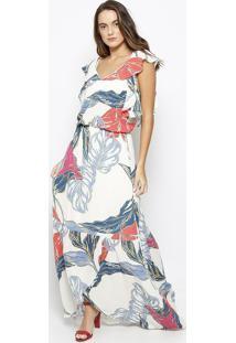 c715e94066 Vestido Morena Rosa Off White feminino