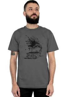 Camiseta Bleed American Vynil Chumbo