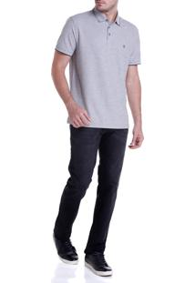 Calca Dudalina Jeans Clean Washed Black Masculina (Jeans Black Medio, 40)