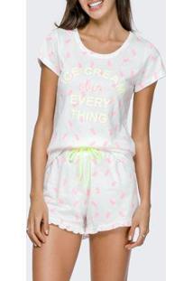Conjunto Pijama Com Amor Feminino - Feminino