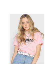 Camiseta Polo Wear The Moon Rosa