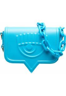 Chiara Ferragni Bolsa Tiracolo Eyelike - Azul
