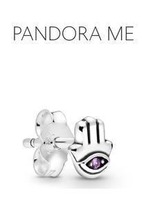 Brinco Único Minha Mão De Hamsá - Pandora Me