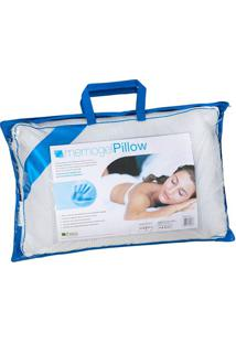 Travesseiro Memogel Pillow Viscoelástico 50X70 Cm Copespuma