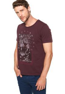 Camiseta Colcci Tigre Roxa
