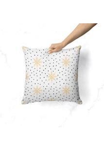Capa De Almofada Love Decor Avulsa Decorativa Estrelas Natalinas