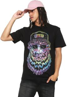 Camiseta Blunt Man Tie Dye Preta