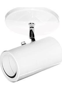 Spot Sobrepor Em Aluminio E - 27 516 1 Branco