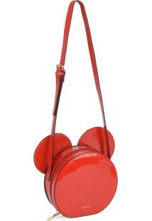 Mini Bolsa Transversal Mickey Mouse Vermelha